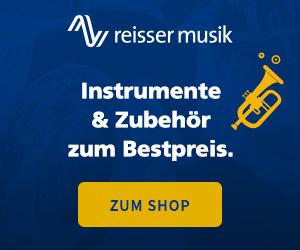 Reisser Musik Partnerprogramm - Instrumente zum Bestpreis