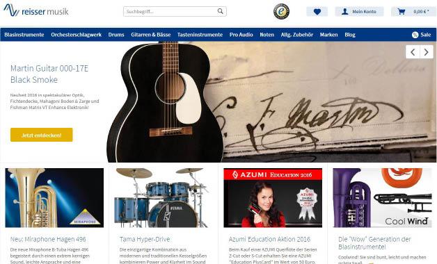 Reisser Online Shop : neuer reisser musik online shop reisser musik ~ Orissabook.com Haus und Dekorationen